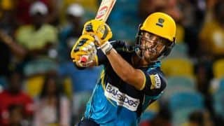 JP Duminy Records Fastest CPL Fifty as Tridents Beat Knight Riders