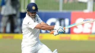 MS Dhoni hopes India will bounce back from 1st Test defeat