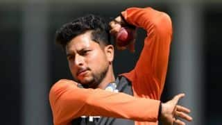 It's challenging to bowl with a red ball: Kuldeep Yadav