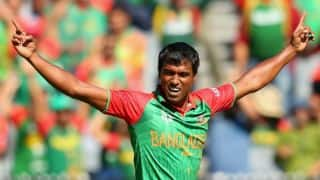Rubel Hossain replaces injured Mohammad Shahid for Australia camp