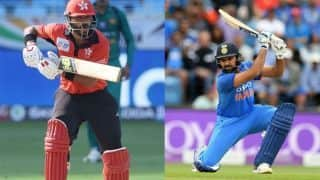Asia Cup 2018, India vs Hong Kong, LIVE Cricket Score, 4th ODI, Dubai: Khaleel gets dangerous Nizakat for first wicket
