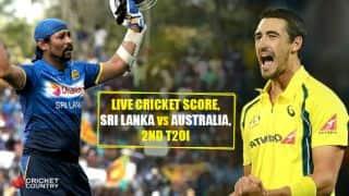 Live Cricket Score, Sri Lanka vs Australia, 2nd T20I: AUS win