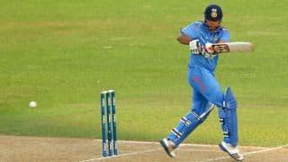 Kohli, Raina take India to 178