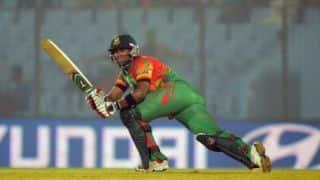 Sabbir Rahman fires explosive 44 on debut