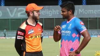 Ipl 2021 rr vs srh sunrisers hyderabad opt to bowl against rajasthan royals david warner missed out 4633206