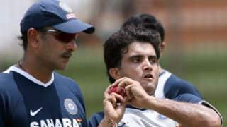 Ganguly had reservations about Shastri's appointment as India coach, says sources