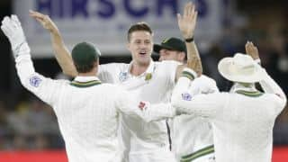 Zimbabwe 30-4; trail South Africa by 279 runs at stumps on Day 1