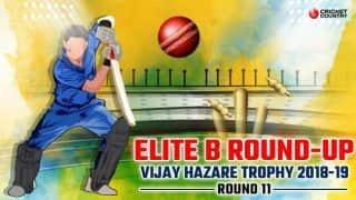 Vijay Hazare Trophy 2018-19 Elite B wrap: Chhattisgarh clinical; Tense wins for Andhra, Hyderabad