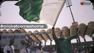 International cricket resumes in Pakistan: A plea to fans