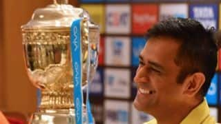 Dhoni reveals about CSK team meeting before final