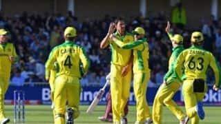 श्रीलंका पर जीत के बाद अंक तालिका में टॉप पर पहुंचा ऑस्ट्रेलिया