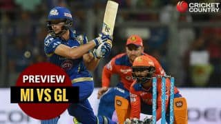 Mumbai Indians vs Gujarat Lions, IPL 2017 Match 16, Preview and likely XI: Rohit Sharma's MI look to tame Lions