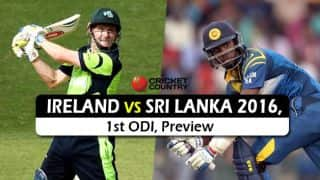 Ireland vs Sri Lanka 2016,1st ODI at Dublin, Predictions and Preview: Hosts' time to shine