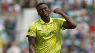 Cricket World Cup 2019: South African pacer Lungi Ngidi suffers hamstring strain against Bangladesh, ruled out of match against India
