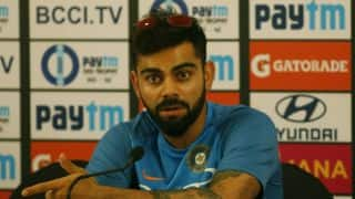 Kohli: IND focussed on playing good cricket against NZ