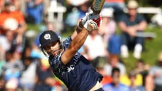 Scotland dominate Afghanistan in chase in ICC World T20 2016, 2nd Qualifier at Nagpur