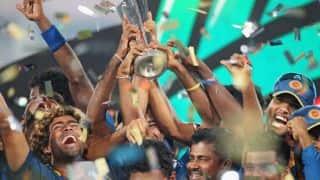 Sri Lanka's World T20 2014 victory celebrations