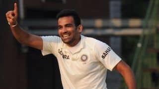 Zaheer Khan returns to Mumbai squad for Ranji Trophy 2013-14 quarter-final