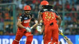 Kohli needs to play Gayle in RCB XI, says Sourav Ganguly