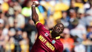 West Indies achieve world record despite defeat to New Zealand in ICC Cricket World Cup 2015