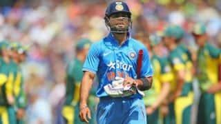 India vs England, 3rd ODI at Brisbane: Virat Kohli, Suresh Raina dismissed in quick succession