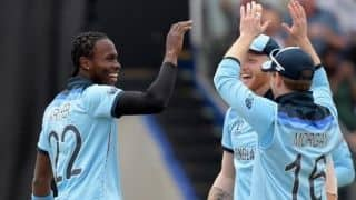 Cricket World Cup 2019: No butterflies, says Jofra Archer as England gear up for Lord's final against New Zealand