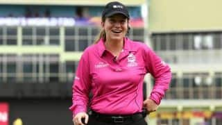 Claire Polosak set to become first woman umpire to stand in men's ODI