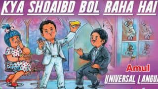 Shoaib Akhtar's insights and diction mocked by Amul