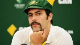 Barmy Army song on Mitchell Johnson