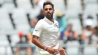 Bhuvneshwar Kumar to fly home, out of first three England Tests