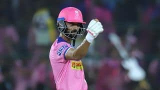 IPL 2019: Liberated Rahane smashes 58-ball century, Royals finish at 191/6