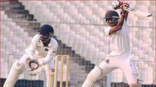 श्रीलंका के खिलाफ अभिमन्यू ईश्वरन ने जड़ा दोहरा शतक, मजबूत स्थिति में भारत