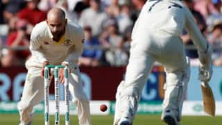 Ben Stokes on Nathan Lyon missing run out of Jack Leach: I could not believe it when I looked up