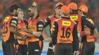 IPL 2016: Table toppers Sunrisers Hyderabad take on faltering Delhi Daredevils