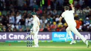 England throttle Australia at 209-4 on Day 1