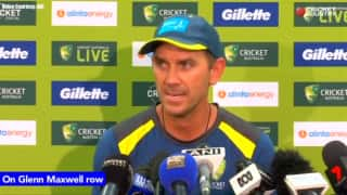 Glenn Maxwell is crystal clear what he needs to do to get back: Justin Langer