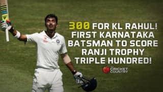 KL Rahul: First triple centurion for Karnataka in Ranji Trophy