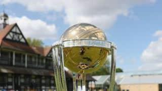 Nine-month long ICC ODI World Cup Trophy Tour kicks off on August 27 in Dubai