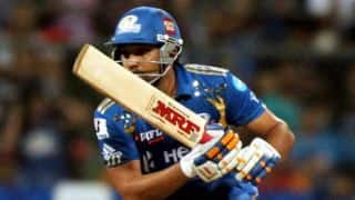 IPL 2015: Rain Interruptions helped Mumbai Indians against Delhi Daredevils, says Rohit Sharma