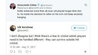 Gibbs, Prince engage in Twitter war over ABD's absence from Test cricket