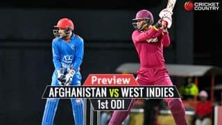 AFG vs WI 2017, 1st ODI Preview: Hosts eye victorious start after T20I success