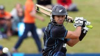 Ross Taylor creates history for New Zealand, surpasses Stephen Fleming to becomes leading run-getter in ODIs