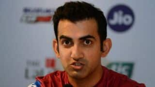 After Navdeep Saini's brilliant debut, Gautam Gambhir takes a jibe on Bishan singh Bedi and Chetan Chauhan