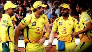 36 years old Shane Watson and MS Dhoni duo doing trick for CSK