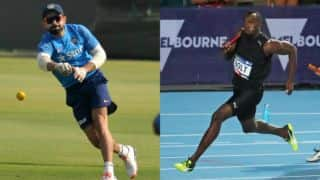 Virat Kohli hails Usain Bolt; aspires to run as fast as him