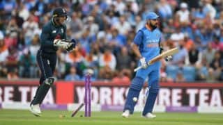 In a first, Virat Kohli fell to spin in three consecutive ODIs as captain