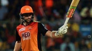 No Kane Williamson for Sunrisers Hyderabad against Chennai Super Kings