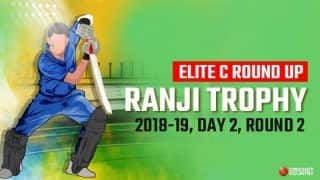 Ranji Trophy 2018-19: Rajasthan concede first-innings lead against Services after Sachidanand Pandey's five wickets