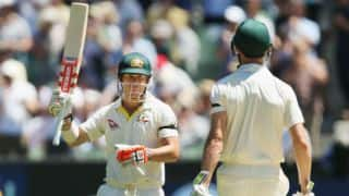 The Ashes 2017-18, 4th Test, Day 1: David Warner's blistering 83* takes Australia to 102-0 before lunch
