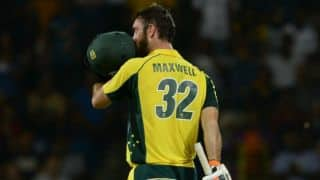 Maxwell: Finch backed me to break his T20 record
